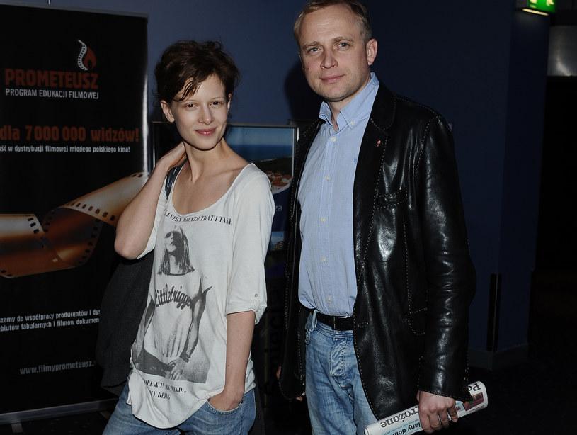 Karolina Gruszka i Piotr Adamczyk /Andras Szilagyi /MWMedia