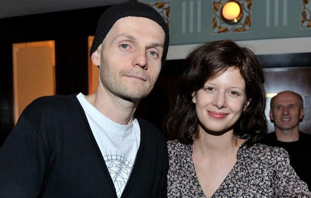 Karolina Gruszka z mężem, fot. Kurnikowski  /AKPA
