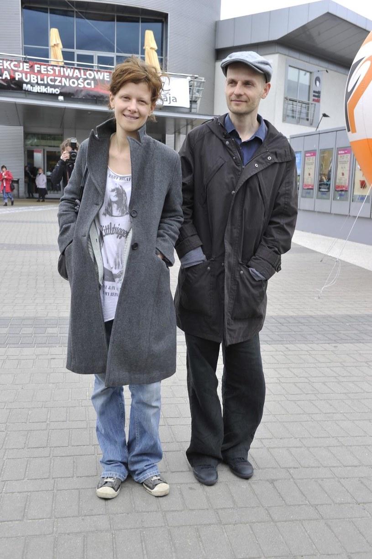 Karolina Gruszka z mężem /Kurnikowski /AKPA