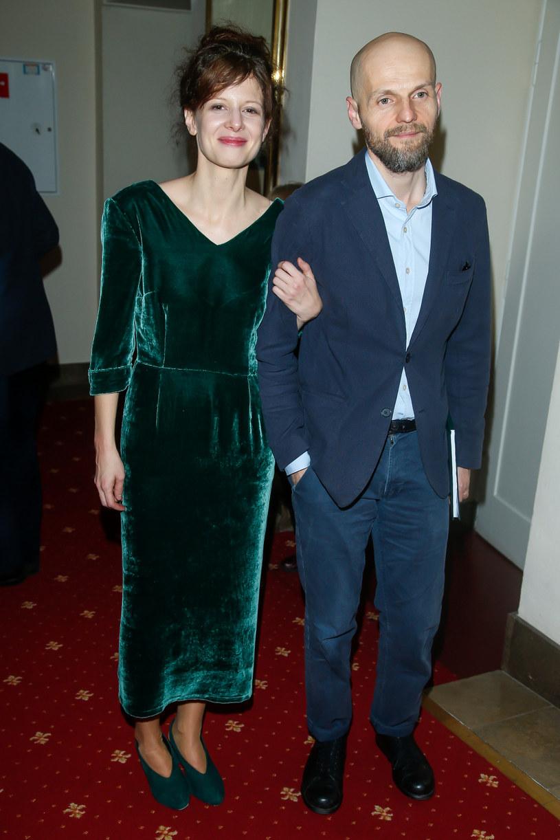 Karolina Gruszka z mężem /AKPA