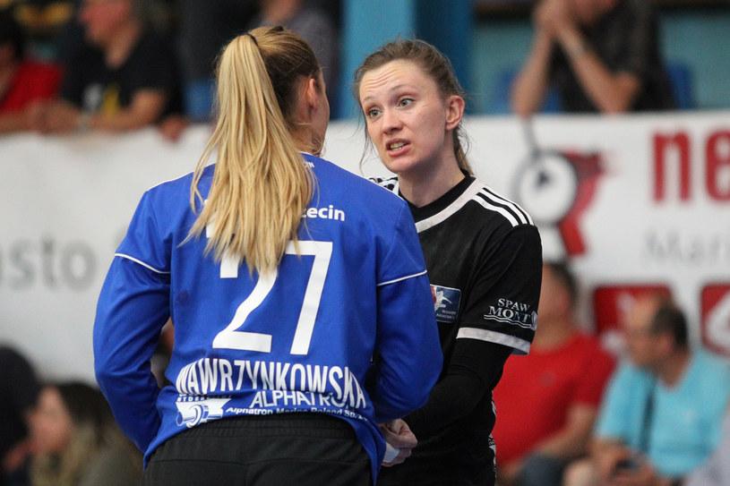 Karolina Kochaniak ( przodem) /Krzysztof Cichomski /Newspix
