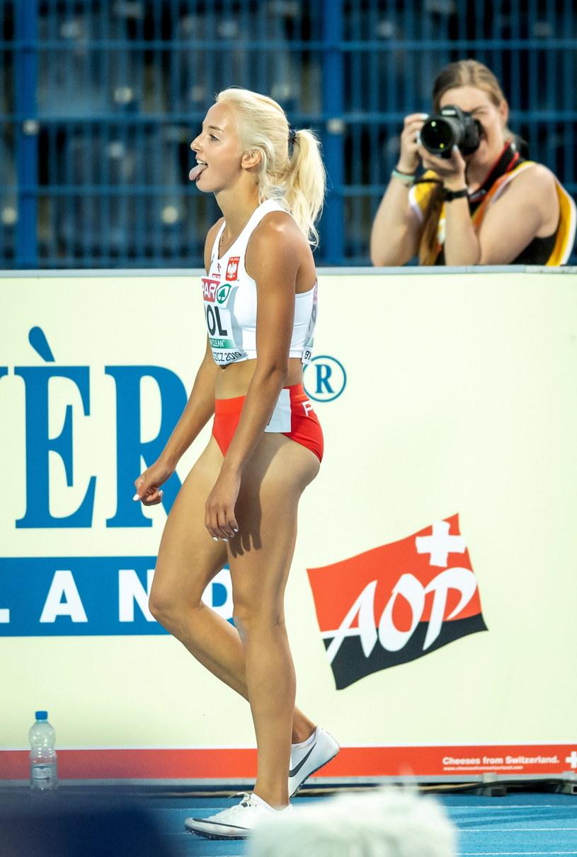 Karolina Kołeczek podczas DME w Bydgoszczy /\Tytus Żmijewski /PAP