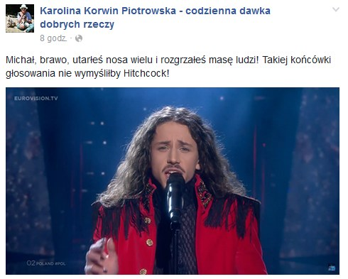 Karolina Korwin-Piotrowska na Facebooku /