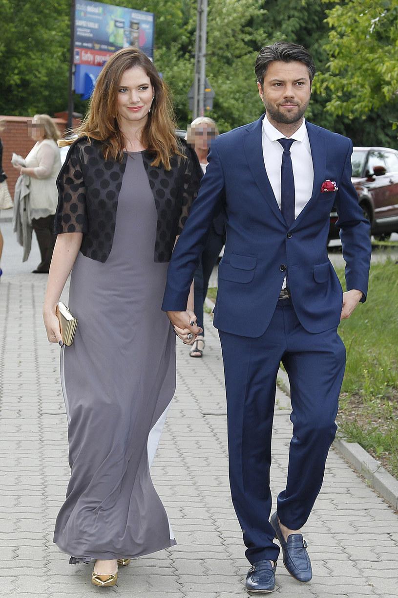 Karolina Malinowska i Olivier Janiak /AKPA