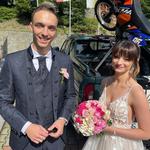 Karolina Małysz wyszła za mąż. Są zdjęcia ze ślubu córki Adama Małysza! Znamy też szczegóły
