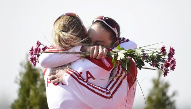 Karolina Naja i Beata Mikołajczyk /RENE VOLFIK /PAP/EPA