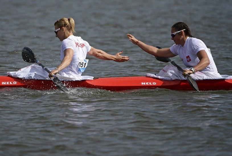 Karolina Naja i Beata Mikołajczyk /AFP