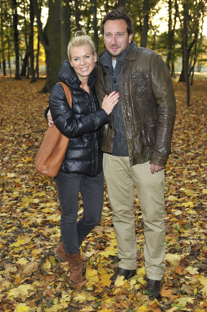 Karolina Nowakowska z mężem Maciejem /Niemiec /AKPA