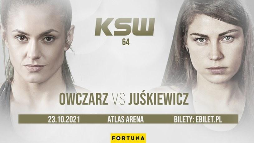 Karolina Owczarz vs Sylwia Juśkiewicz na KSW 64 /KSW /
