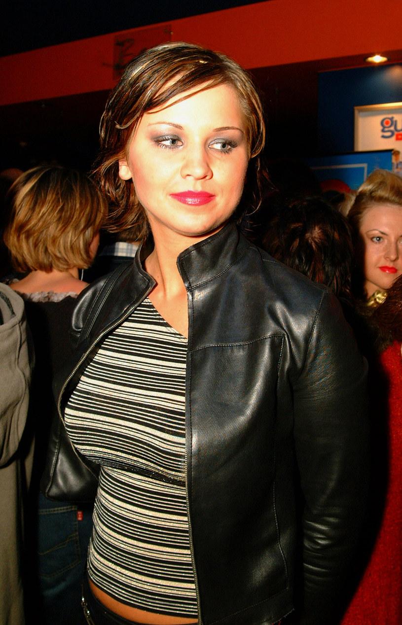 Karolina Pachniewicz w 2002 roku /Prończyk /AKPA