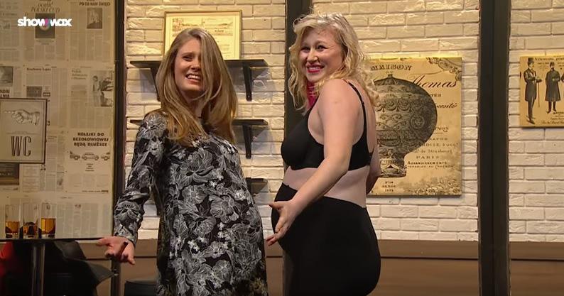 """Karolina Piechota i Julia Pietrucha w skeczu w programie """"SNL Polska"""" /YouTube /materiał zewnętrzny"""