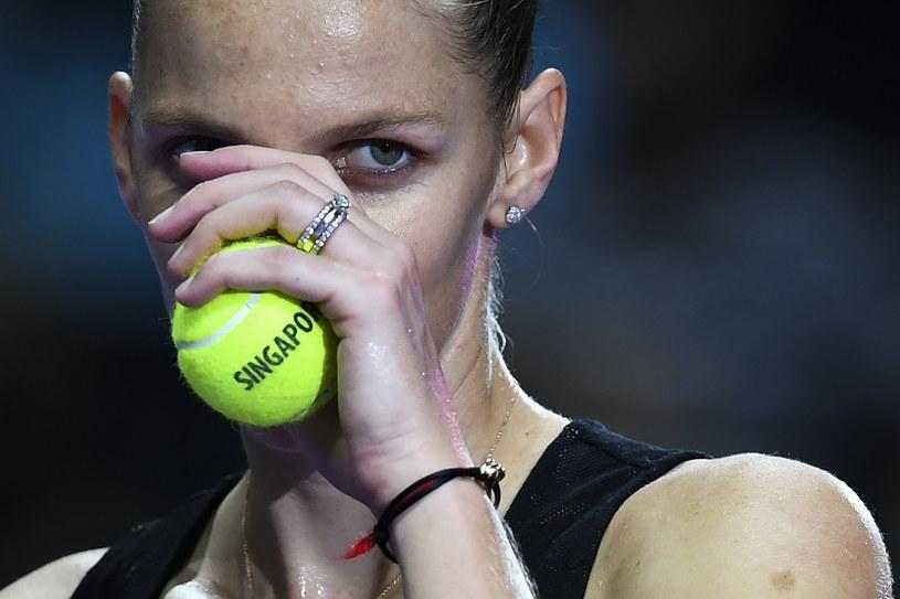 Karolina Pliskova /AFP