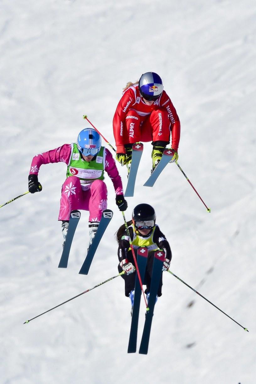Karolina Riemen-Żerebecka (z lewej) /AFP