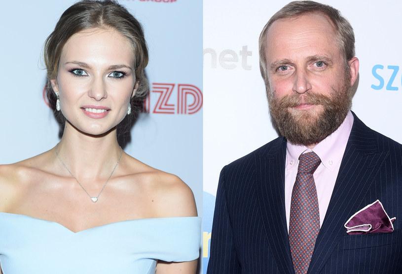 Karolina Szymczak i Piotr Adamczyk /Andras Szilagyi /MWMedia