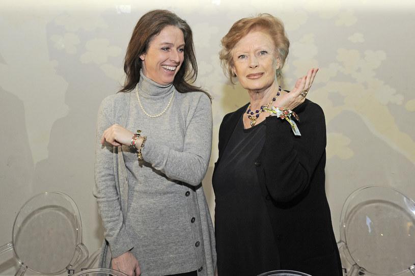 Karolina Wajda i Beata Tyszkiewicz w 2009 roku /Niemiec /AKPA
