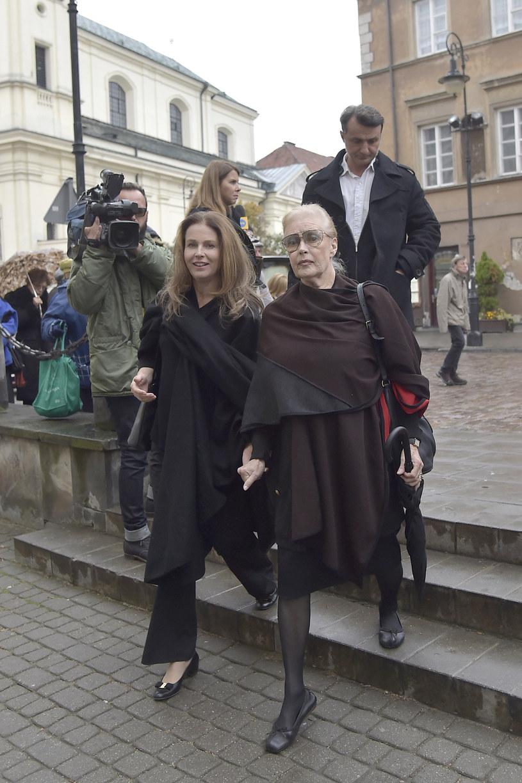 Karolina Wajda i Beata Tyszkiewicz /- /AKPA