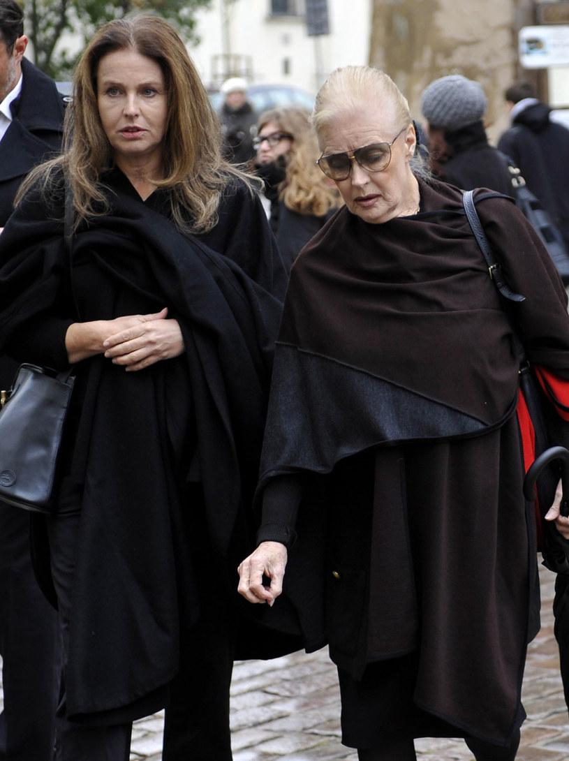 Karolina Wajda z mamą Beatą Tyszkiewicz /Mieczyslaw Wlodarski/Reporter /Reporter