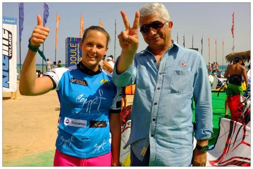Karolina Winkowska i Reda Bebars w Soma Bay /www.magdalena-lasocka.com /INTERIA.PL