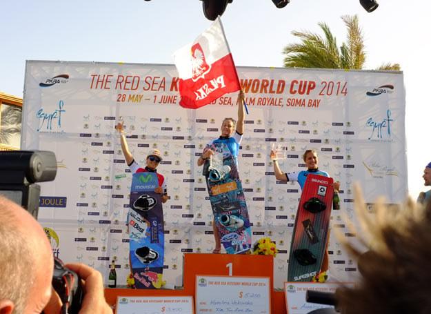 Karolina Winkowska, mistrzyni świata w kitesurfingu /Magdalena Lasocka /archiwum prywatne