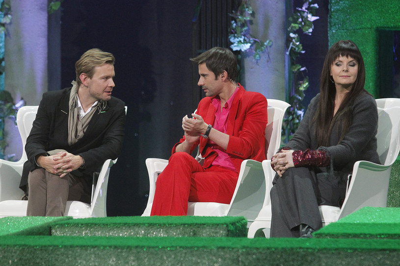 Karolina z Marcinem i Dawidem /- /AKPA