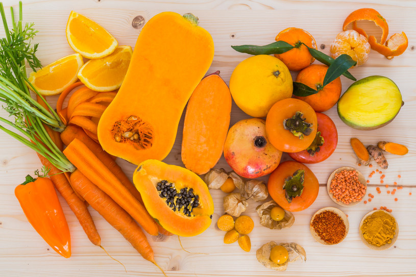 Karotenoidy: W jakich produktach występują? /123RF/PICSEL