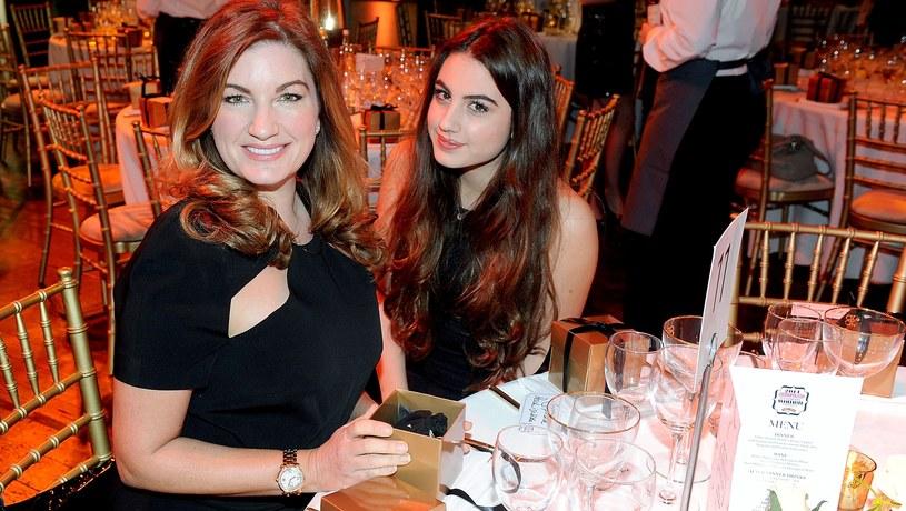 Karren Brady wspiera swoją córkę, Sophie Peschisolido, w jej karierze modelki /Dave J Hogan /Getty Images