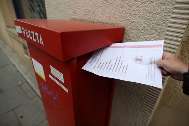 Karta do głosowania w wyborach na prezydenta RP/ zdjęcie archiwalne //Łukasz Gągulski /PAP