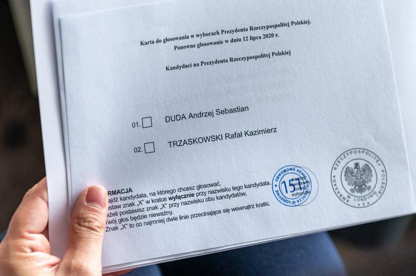 Karta do głosowania; zdj. ilustracyjne /Jacek Klejment /East News