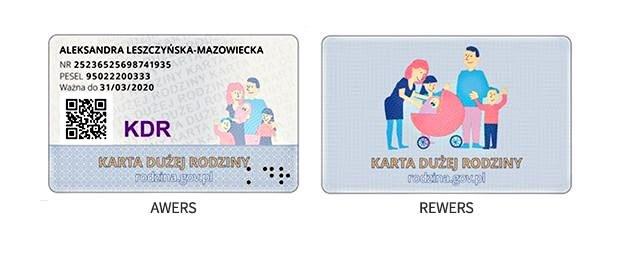 Karta Dużej Rodziny bije rekordy popularności /fot. www.gov.pl /
