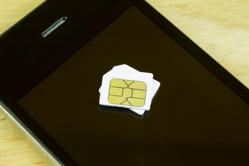 Karta SIM (zdjęcie ilustracyjne) /123RF/PICSEL