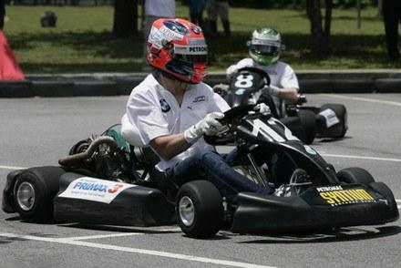 Karting to hobby Roberta Kubicy /