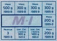 Kartka na mięso - w latach 1976-89 system sprzedaży kartkowej objął benzynę, proszki do prania, /Encyklopedia Internautica