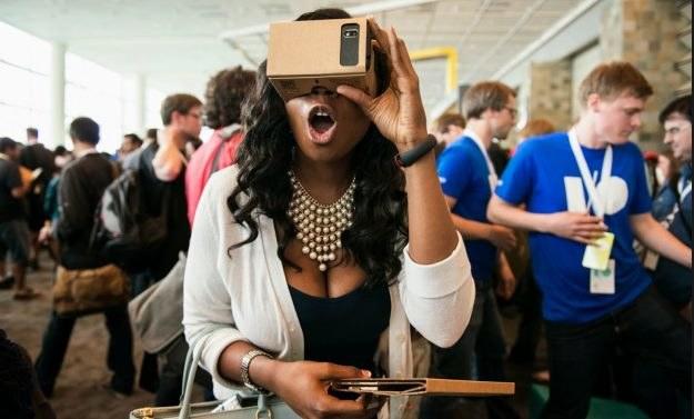 """""""Kartonowe gogle VR"""" od Google /materiały prasowe"""