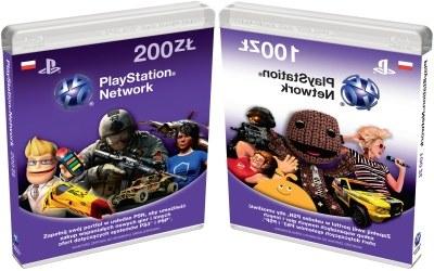 Karty do PlayStation Network - zdjęcie /Informacja prasowa