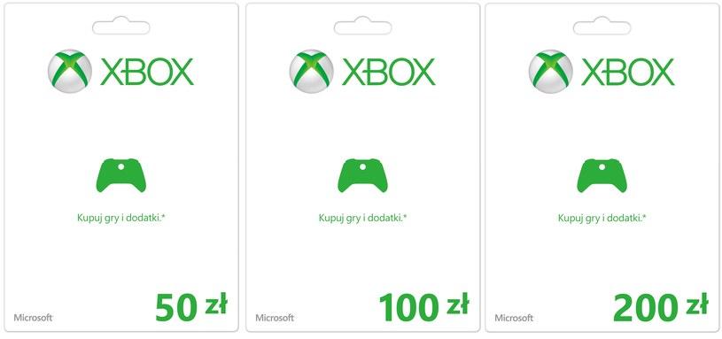 Karty przedpłacone, dzięki którym dokonamy zakupów w usługach Microsoftu /materiały prasowe