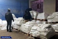 KAS i CBŚP przechwyciły przemyt niemal dwóch ton kokainy
