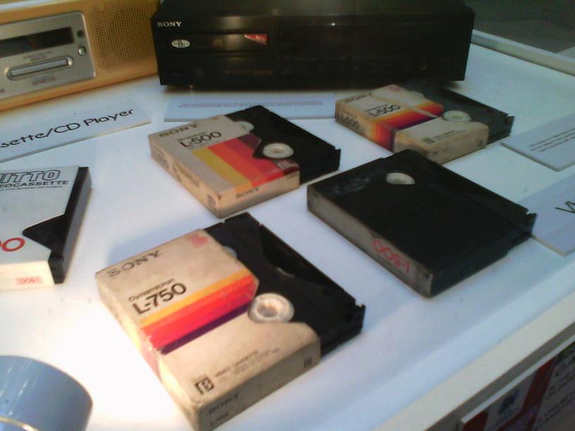 Kasety Betamax Fot. SuperArticleGuy /Wikipedia