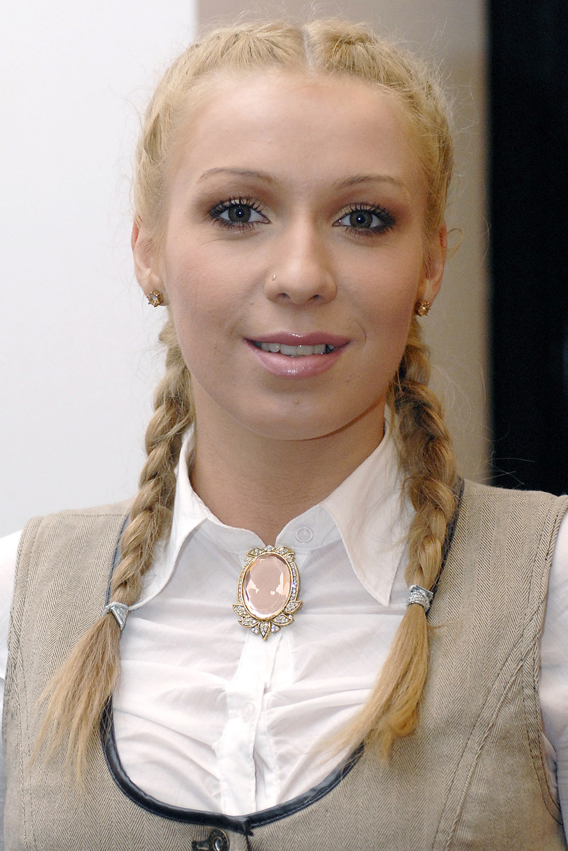 Kasia Cerekwicka, 2006 rok /Jacek Grąbczewski /AKPA