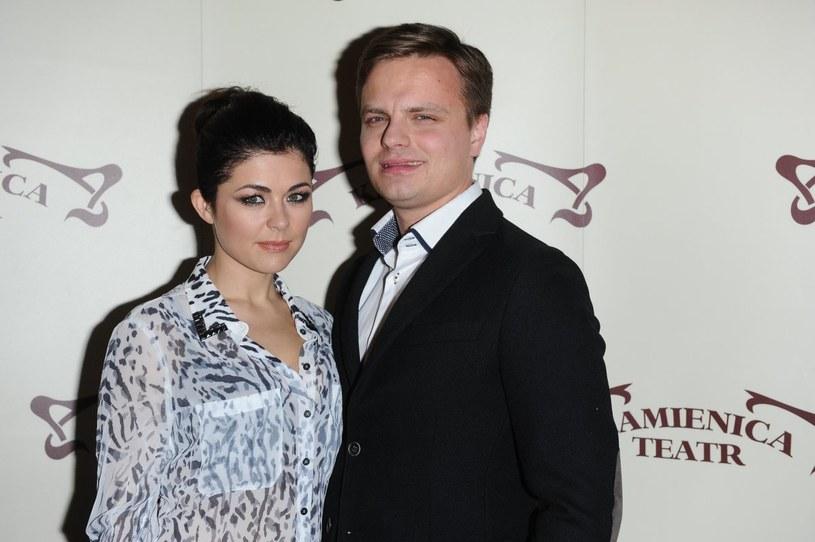 Kasia Cichopek i Marcin Hakiel /Piotr Andrzejczak /MWMedia