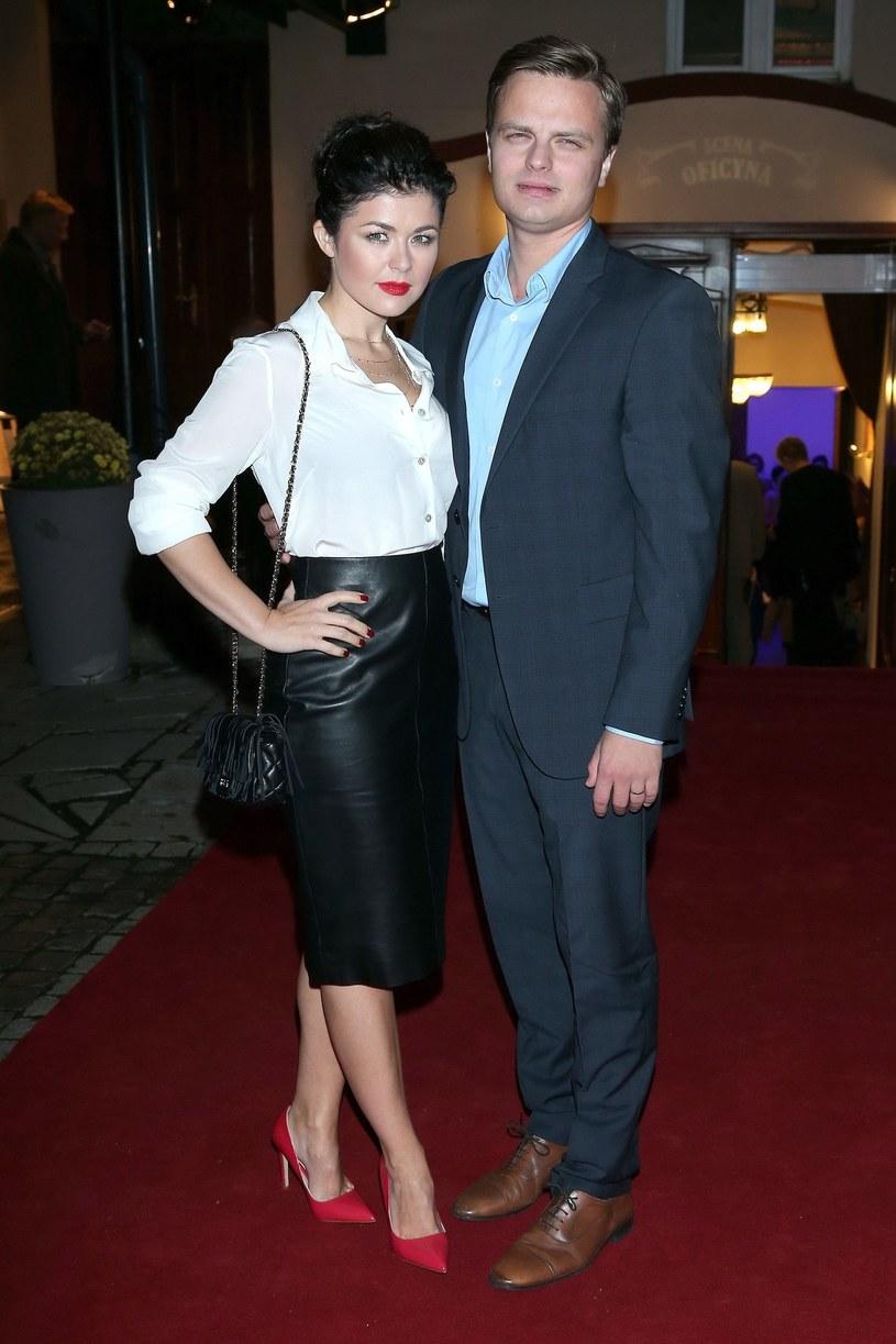Kasia Cichopek i Marcin Hakiel /VIPHOTO /East News