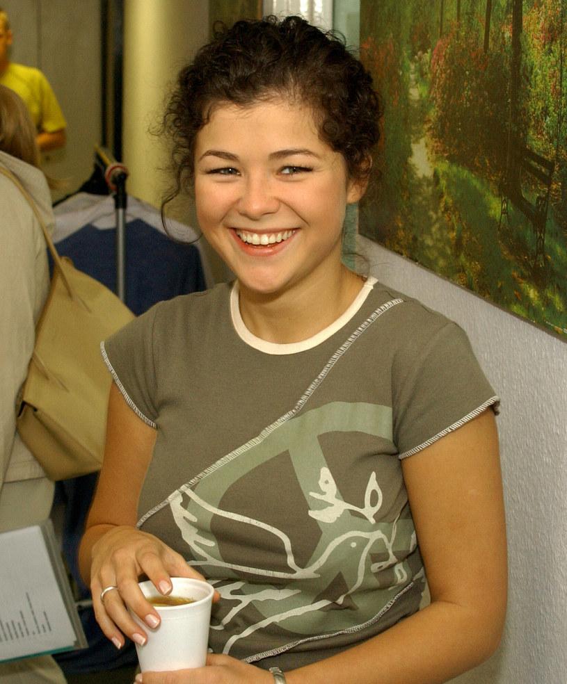 Kasia Cichopek w 2003 roku była młodą i niedoświadczoną aktorką /Tricolors /East News