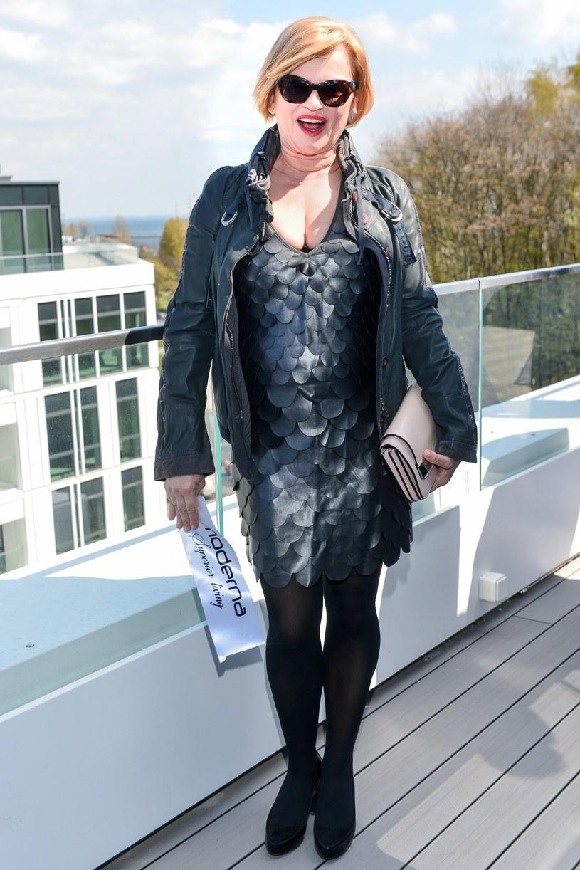 Kasia Figura została ambasadorką kompleksu mieszkaniowo-apartamentowego w Gdyni /Łukasz Dejnarowicz /Agencja FORUM