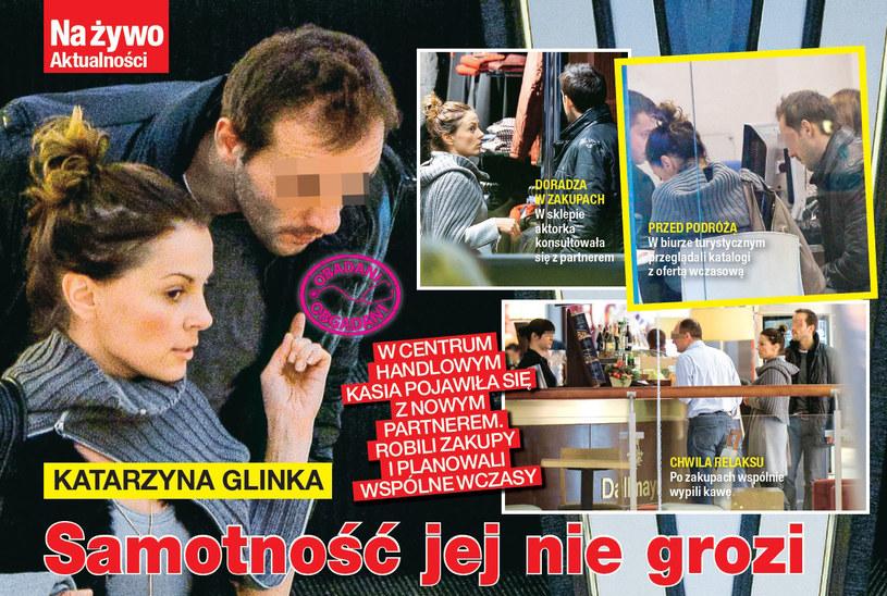 Kasia Glinka nowym przyjacielem /Na żywo