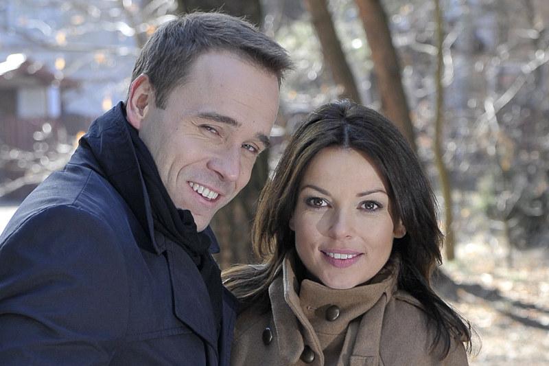 """Kasia Górka, w którą Katarzyna Glinka wciela się w serialu """"Barwy szczęścia"""", spodziewa się dziecka! /Agencja W. Impact"""