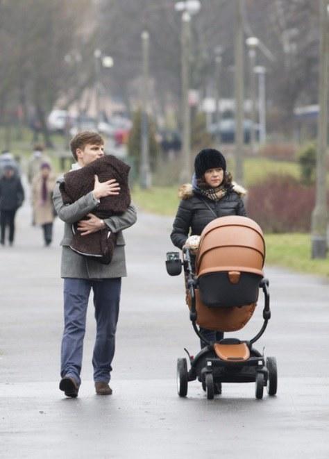 Kasia i Marcin na spacerze /- /Foto IP