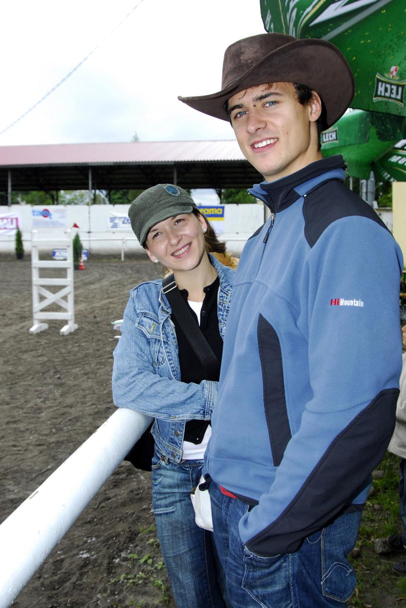 Kasia i Mateusz w 2006 roku /Prończyk /AKPA