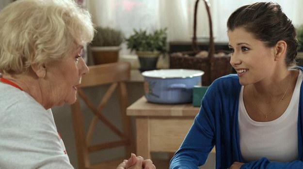 Kasia już wybrała: Chce, aby matką chrzestną jej dziecka była Barbara! /www.mjakmilosc.tvp.pl/