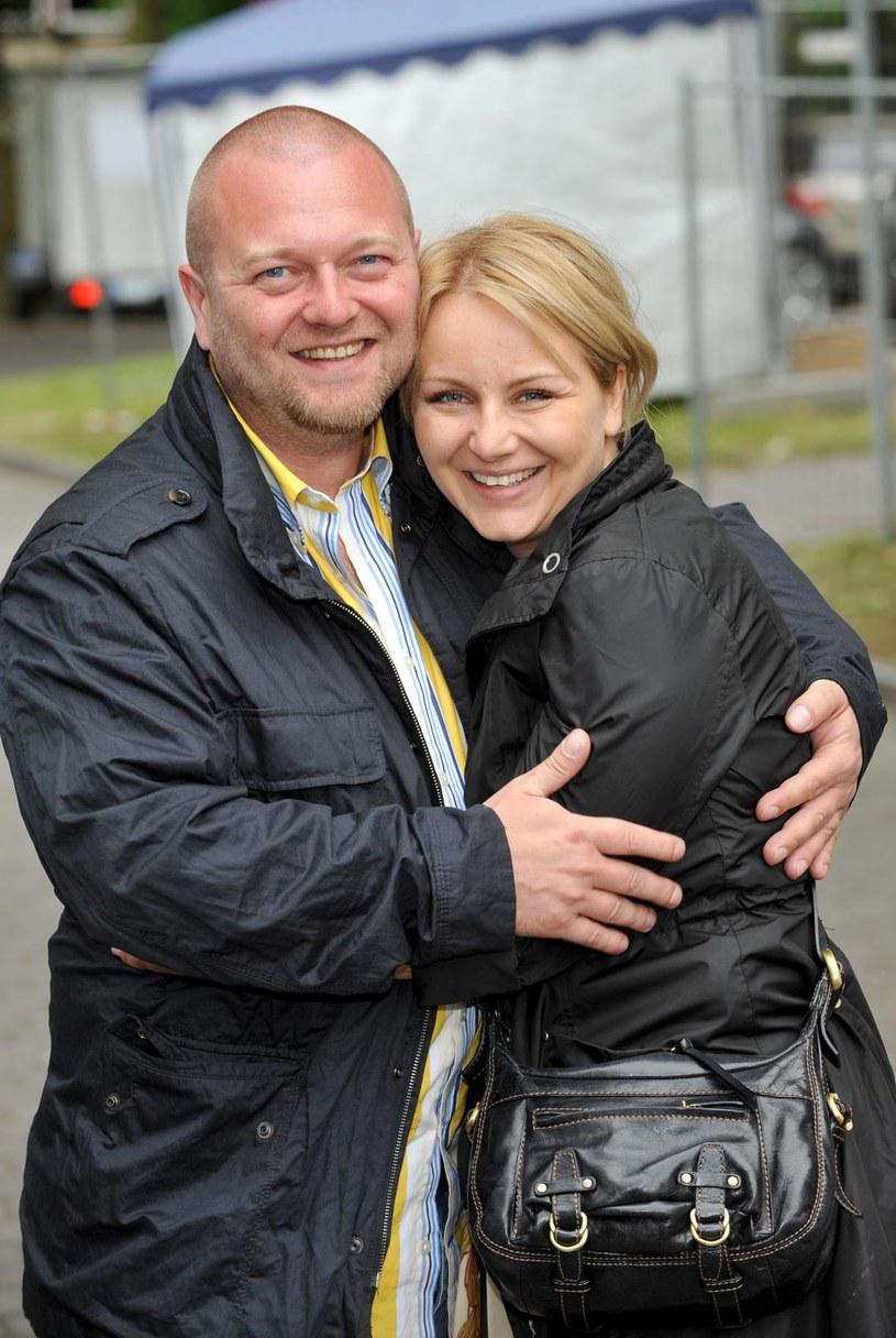 Kasia Klich z mężem /AIM
