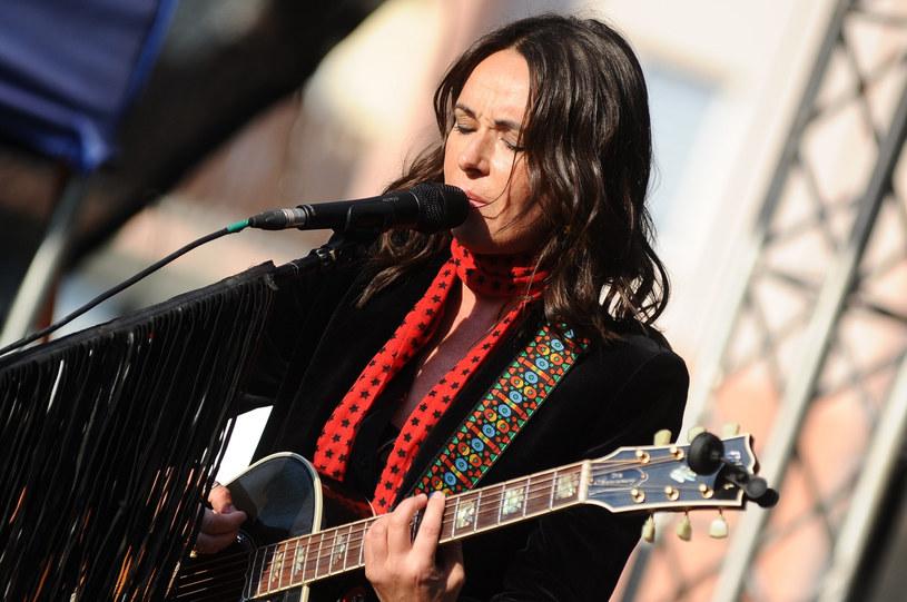 Kasia Kowalska podczas koncertu w Ciechanowie /VIPHOTO /East News