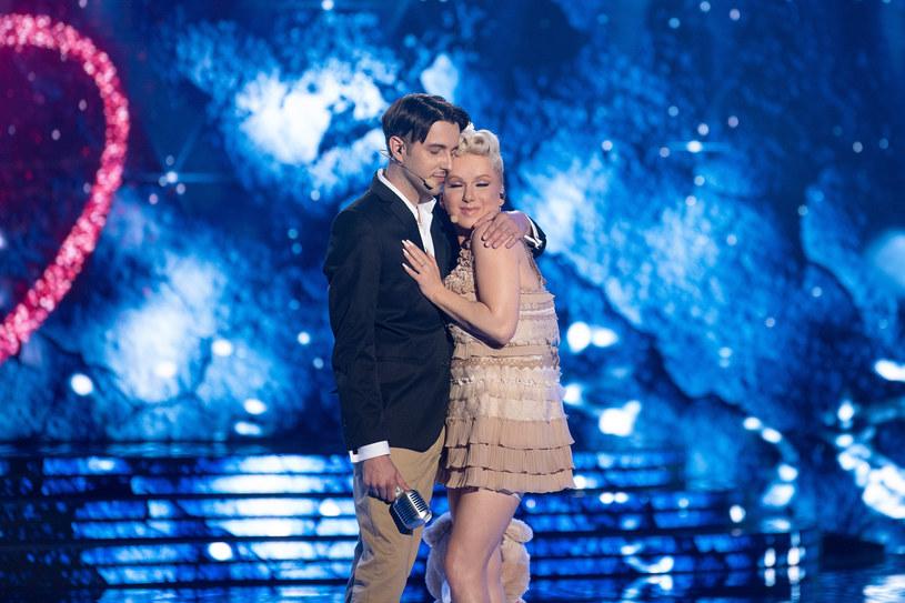 "Kasia Łaska i Paweł Góral zaśpiewali ""Just Give Me a Reason"" Pink & Nate'a Ruessa /Polsat"